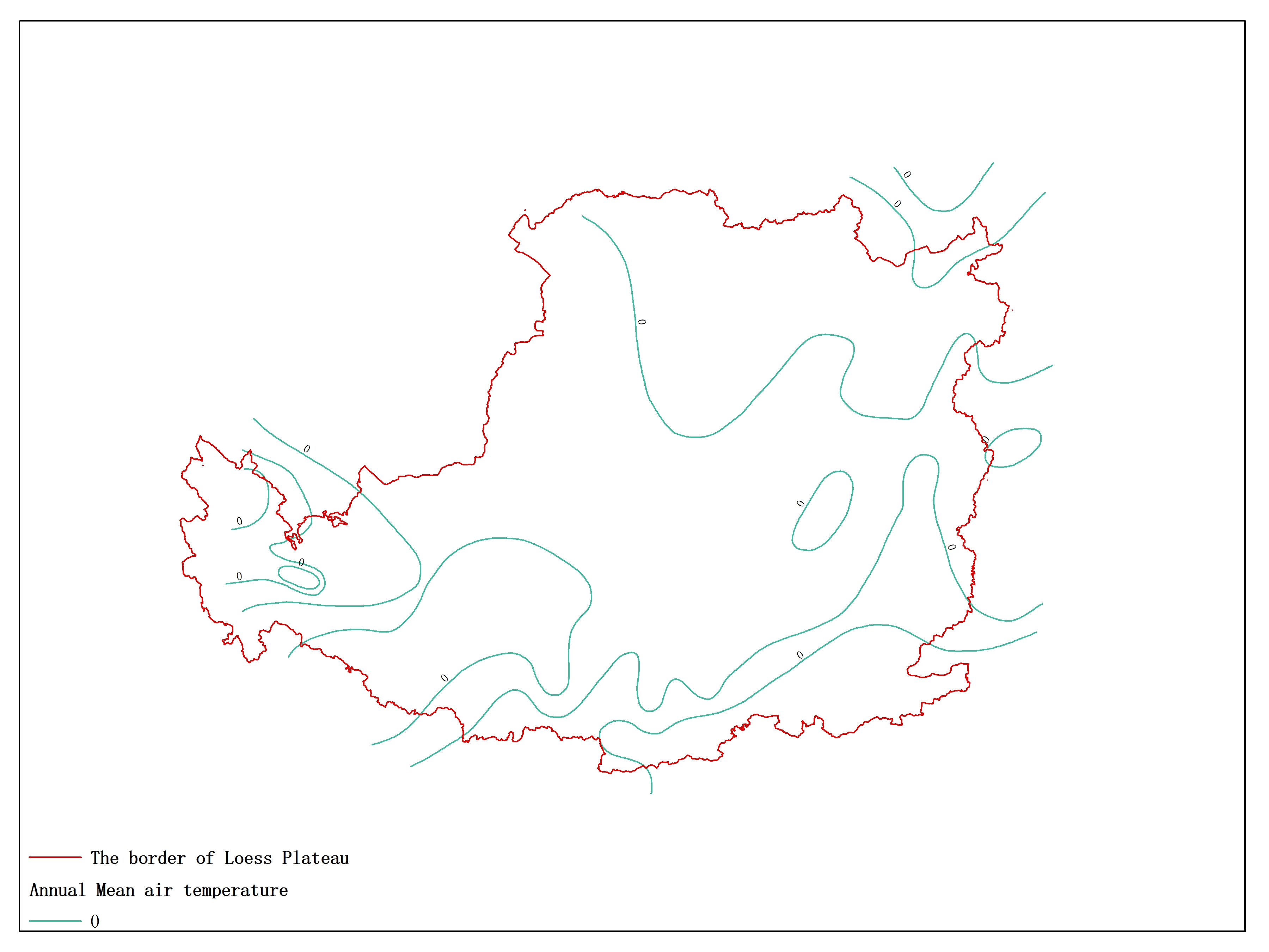 Agricultural climate resource atlas of Loess Plateau-Mean air temperature
